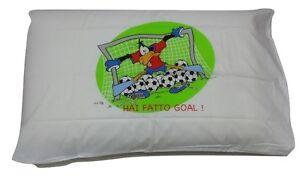 reputable site e601f bd4c7 Dettagli su Federa Bassetti Fantafedera Con Scritta Hai Fatto Goal Looney  Tunes Daffy Duck