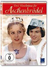 3 DREI HASELNÜSSE FÜR ASCHENBRÖDEL Märchen Klassiker REMASTERED DVD Aschenputtel