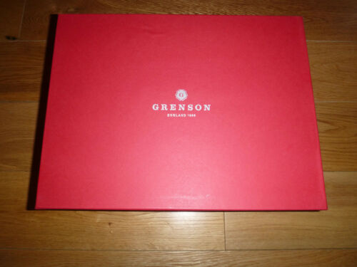 110457 Grenson Uk10 Bnib Shoes Us11 Burgundy Brogue Dylan wOnqpXT