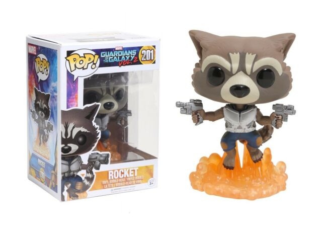 Pop Funko Guardianes de la Galaxia Rocket