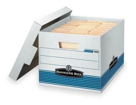 BANKERS BOX 00789 Banker Box,Ltr//Lgl,550Lb,PK12