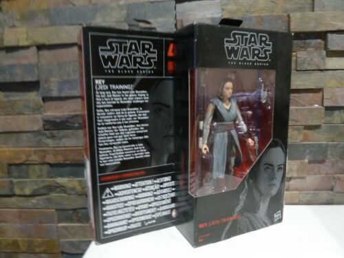 "STAR WARS Black Series #44 Rey Jedi Training 6/"" Action Figure = Boxed. NEUF"