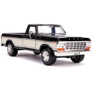 Jada 31588 JustTrucks 1979 Ford F-150 PickUp Truck 1:24 Stock 2-Tone Brown//White