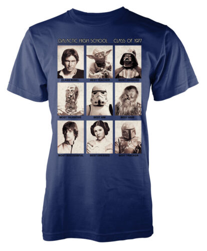 Star Wars Class of 77 new hope inspired mashup adult tshirt