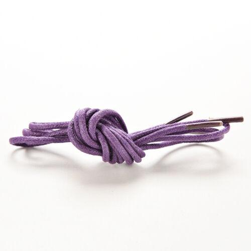13 Art der Farbe 85cm Cotton Gewachste Rundschnur String Kleid Schnürsenkel HMYY