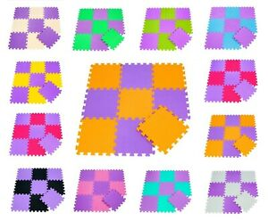 20Pcs Eva Foam Mat Soft Floor Tiles Interlocking Play Kids Baby Mats Gym 30X30cm