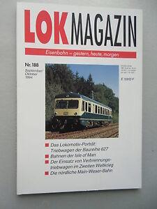 LOK-Magazin-Eisenbahn-gestern-heute-morgen-Nr-188-Sept-Okt-1994