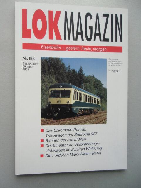 LOK Magazin Eisenbahn gestern heute morgen Nr. 188 Sept. / Okt. 1994