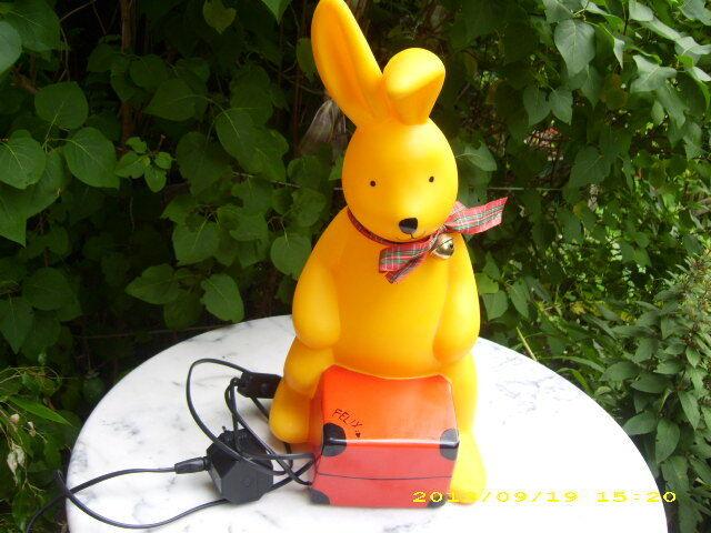 Felix Il Coniglio-Lampada 48 48 48 cm di altezza-personaggio lampada-lampada bambini-rilassante luce 0f7fa9