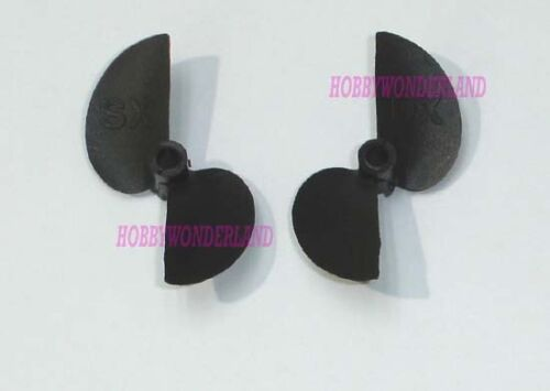 757 NQD 757-059 Speed Boat Spare Propeller for R//C Boat replacement x 2 pairs