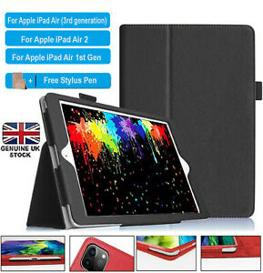 Smart Flip PU Leather Stand Magnetic Case Cover For Apple iPad AIR 1,2,3(10.5)