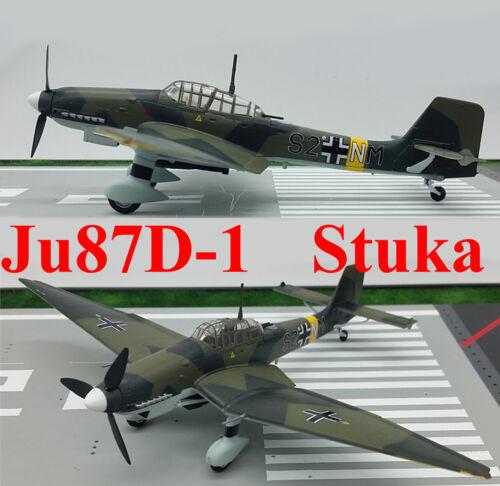 Easy Model 1//72 Germany Ju-87D-1 Stuka.//StG.3 1943 Plastic Fighter Model #36386