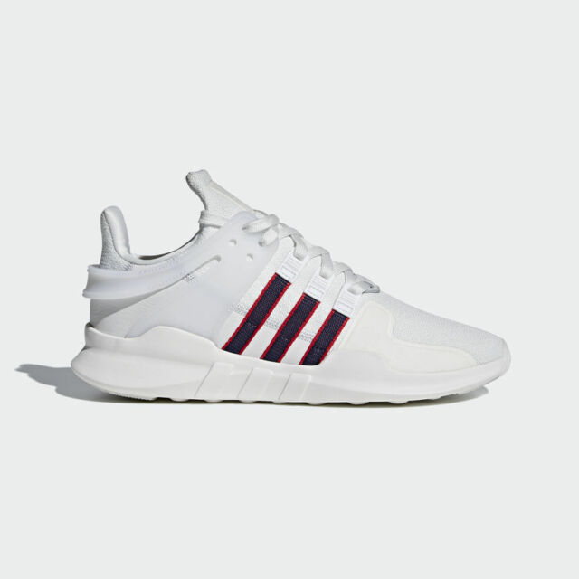 purchase cheap b95db ab463 NEW MEN'S ADIDAS ORIGINALS EQT SUPPORT ADV SHOES [BB6778] WHITE//NAVY-RED