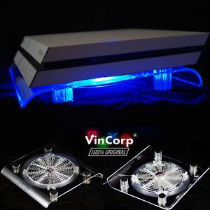 Design-USB-Radiatore-Ventola-BLU-LED-18cm-supporto-per-ps4-PLAYSTATION-4-Pro-Accessori