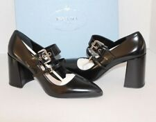 c92c497700a6 item 4 NIB  790 Prada Black Leather Mary Jane Block Heel Pump Size EU 38 US  8 -NIB  790 Prada Black Leather Mary Jane Block Heel Pump Size EU 38 US 8