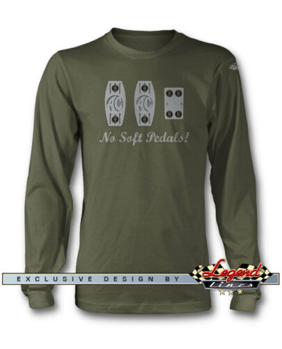Multiple Colors and Sizes AC Shelby Cobra 427 289 PEDALS Long Sleeves T-Shirt