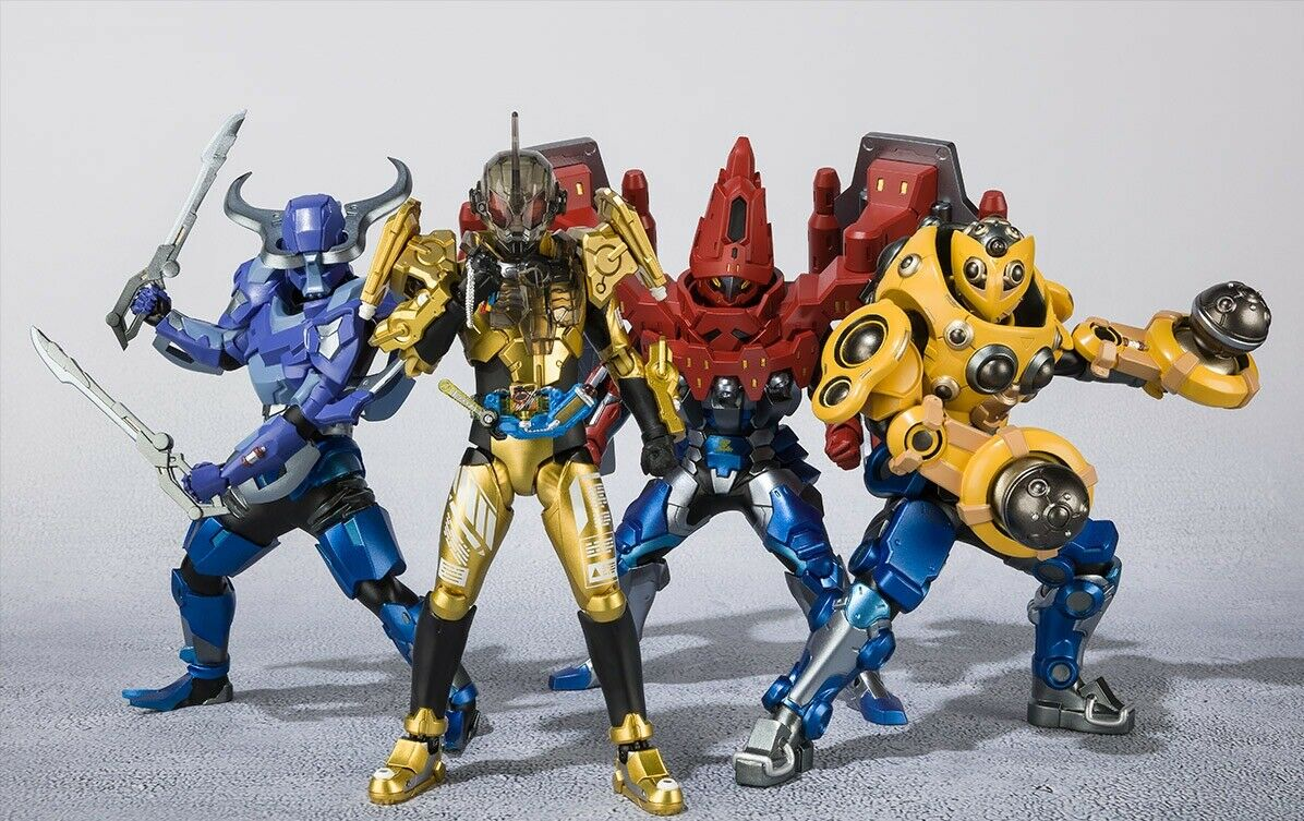 Figuarts Zero + S.H.Figuarts Kamen Rider Gebaut Hokuto No Sawatari Farm Set Neu
