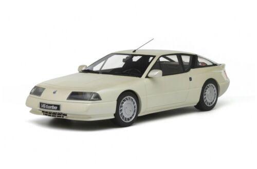 RENAULT ALPINE GTA v6 Turbo Bianco 1:18 resin OTTOMOBILE ot662 NUOVO & OVP