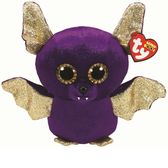 Soft Toy Ty Beanie Boos Count Bat Purple 15 Cm for sale online  bb903c0f1