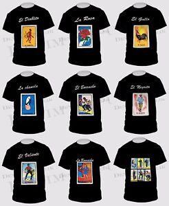 8767f7e1 Mexican Loteria Borracho Drunk Beer La Peda Men's Funny T Shirt ...