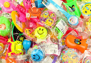 Over 200 Party Bag Fillers Toys Bundle for Kids With 48 Party Bags.Unisex.