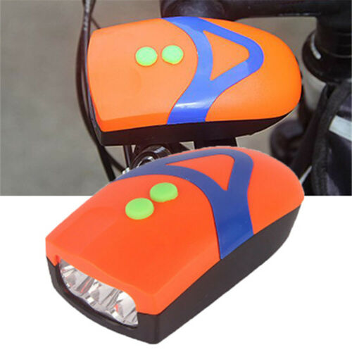 Bicycle Light Mountain Bike 3Led FrontLight Headlamp Cycling Lamp With Bell v
