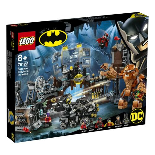 LEGO 76122 DC Universe Super Heroes™ Clayface™ Invasion in die Bathöhle