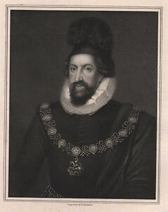 1834 Georgianisch Aufdruck ~ Thomas Howard ~ Earl Von Sussex
