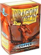 Dragon Shield Deck Protector Sleeves COPPER 100ct Standard Size MTG BRAND NEW!!