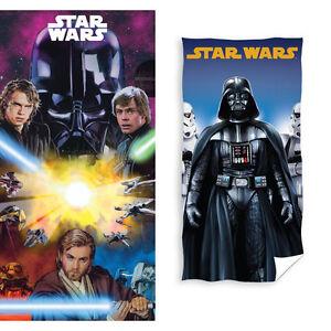 Star-Wars-Clone-Wars-Badetuch-Handtuch-Strandtuch-Duschtuch
