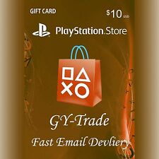 US $10 PSN Playstation Network Gift Card Prepaid Karte Key Code für PS3 PS4 PSP