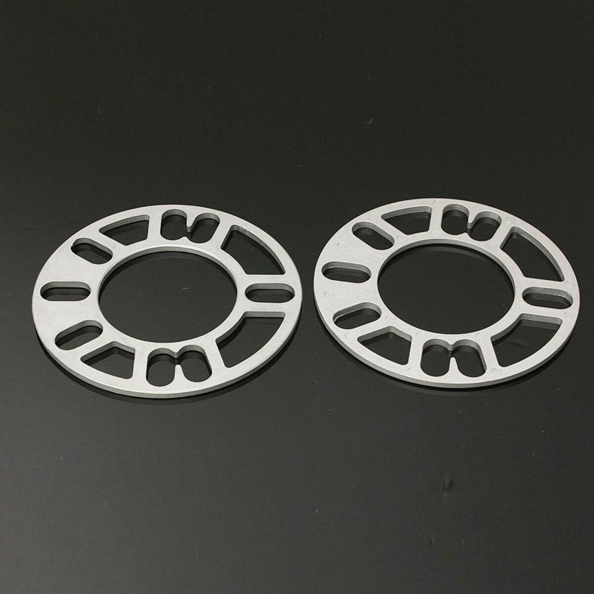 4Pcs 5mm Aluminum Alloy Tire Spacers Adaptor Shims For 4/5