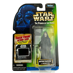 Star Wars Emperor Palpatine With Walking Stick Action Figure Kenner Toys NEW