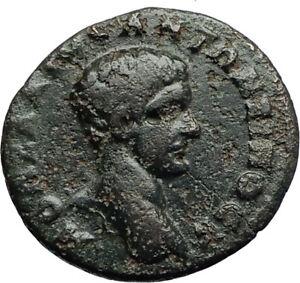 DIADUMENIAN-son-of-Macrinus-218AD-Marcianopolis-Ancient-Roman-Coin-TYCHE-i70775