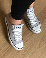 Converse All Star Chucks Hell Grau Low Damen GR. 39,5 39 Top Blogger Grey ❤️