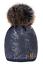 infantil-invierno-Gorro-Ninas-punto-nina-Sombreros-Worm-Grande-Pompon-ROXY