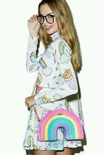 Topshop Skinnydip Rainbow Cross Body Bag BNWT *free Topshop gift* unicorn multi