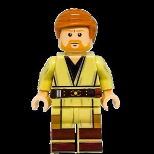 Custom Lego Star Wars Minifigure Obi Wan Kenobi Revenge Of The Sith Ebay