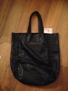 Et DAY Birger et Mikkelsen TRICKEN Shopper Tote Shopping BAG Black ... ff2e3da19