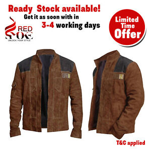 Han-Solo-A-Star-Wars-Character-Distressed-Brown-Suede-Motercycle-Leather-Jackets