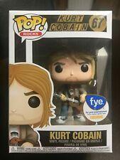 POP Vinyl Figure #67 Rocks-Kurt Cobain MTV Unplugged EXC FUNKO POP