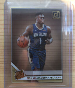 2020-Panini-Clearly-Donruss-Gold-Zion-Williamson-RC-Rated-Rookie