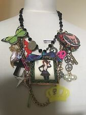 Unique One Off Handcrafted Vivienne Westwood Loaded Statement Charm Necklace 2