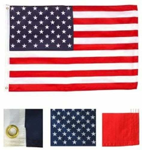3x5 USA American Flag United States Banner US Polyester Pennant America New