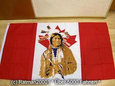 Fahnen Flagge Kanada Canada Indianer - 90 x 150 cm
