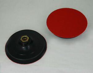 schleifteller 125mm f r winkelschleifer m14 klett schleifscheiben st tzteller ebay. Black Bedroom Furniture Sets. Home Design Ideas