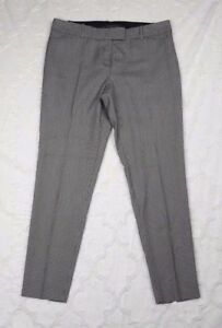 The-Limited-Womens-Dress-Pants-Houndstooth-Drew-Fit-Tapered-Skinny-Leg-Size-10