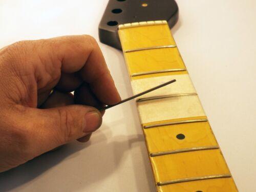 Custom Ground File Hellfire Fret End Dressing File Guitar Bass Luthier