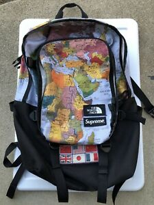Details about Supreme x The North Face Expedition Backpack World Map on map shoes, map luggage, map boots, map crossbody, map skirt, map phone case, map jacket, map scarf, map white, map trunk, map suitcase, map wallet, map sweater,