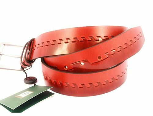 Tan Two-Tone Designer 100/% Leather Belt by Prime Hide